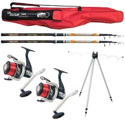 Lineaeffe Full Surfcasting Combo Top Telesurf