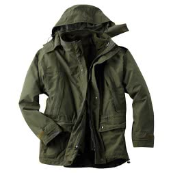 Men's 3 in 1 Jacket Bush