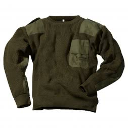 Men's German Army Sweater (with Breast Pocket)