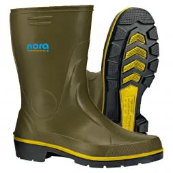 Men's Nitrile Rubber Boots Half High