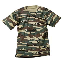 Men's Outdoor T-Shirt (camouflage)