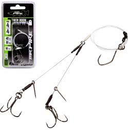 Mr.Pike Hooks Ghost Traces Twin Hook-Release-Rig