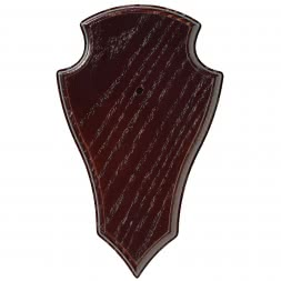 Oak trophy board (dark stained)