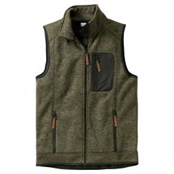 OS Trachten Men's Knitted Fleece Vest
