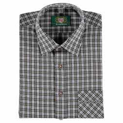 OS Trachten Men's Longsleeve Shirt (with breast pocket)