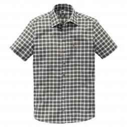 OS Trachten Men's Shortsleeve Shirt DEER