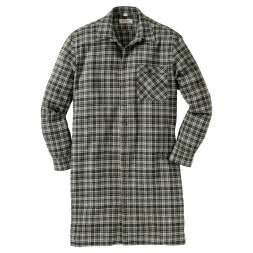 OS Trachten Men's Thermo Flannel Shirt ( extra long)