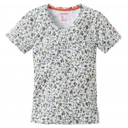 OS Trachten Women's functional T-shirt floral motif