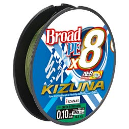 Owner High Performance Fishing Line Kizuna 8-Braid (green, 135 m)