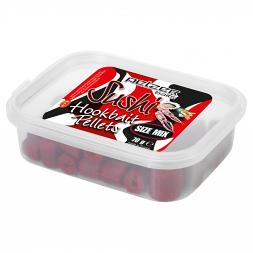 Pelzer Hookbait Pellets Mix, Sushi