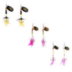 Perca Toplure Perch Spinner-Set, 6