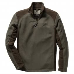 Percussion Men's Fleece Sweater (olive/brown)