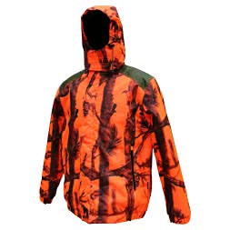 Percussion Men's hunting jacket RENFORT (Ghostcamou Blaze)