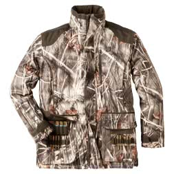 Percussion Men's Outdoor Jacket Brocard (Ghost Camou Wet)