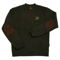 Percussion Men's Pullover (with embroidered Motif)