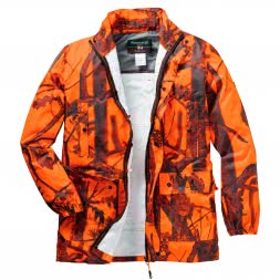 Percussion Men's Rain Jacket GHOSTCAMO