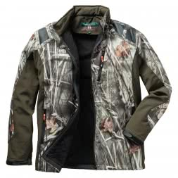 Percussion Men's Softshell Jacket Ghost Camou Wet