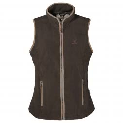 Percussion Women's Fleece Vest SCOTTLAND (khaki)