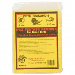 Pete Rickard's Wax Feather Remover