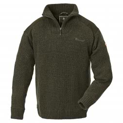 Pinewood Men's Knitted Pullover HURRICANE (green)