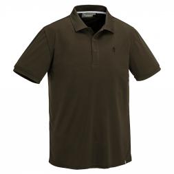 Pinewood Men's Polo Shirt Ramsey Coolmax (brown)