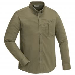 Pinewood Men's Shirt Tividen TC-Stretch Insect-Stop (olive)