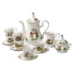 Porcelain Coffee Service