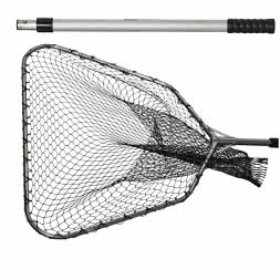 Predator fish landing net head + landing net rod (set)