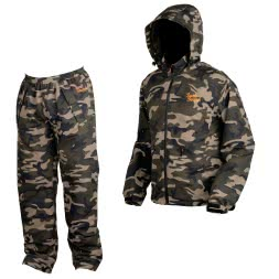 Prologic Men's Rainsuit Bank Bound 3-Season CAMO