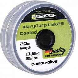 Quantum Radical Fishing Line WaryCarp Link Coated