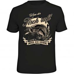 Rahmenlos Men's T-Shirt - Wenn der Fisch ruft muss ich gehen