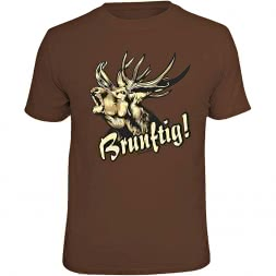 "Rahmenlos Men's T-Shirt ""Brunftig"""