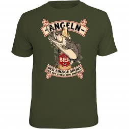 """Rahmenlos Men's T-Shirt """"-Fishing-"""" (German version only)"""
