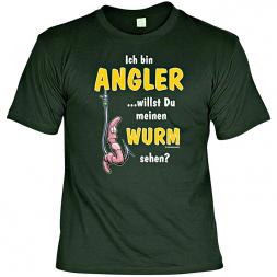 "Rahmenlos mens t-shirt ""I am a Fisherman..."" (German version only)"