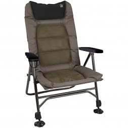 Red Carp Fishing Chair Suede