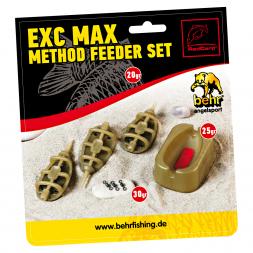 Red Carp Method Feeder Set EXC MAX