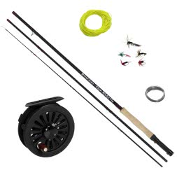 Riverman Fly Combo Clear Water