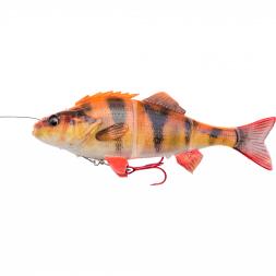 Savage Gear Softbait 4D Line Thru Perch (sinking, Albino)