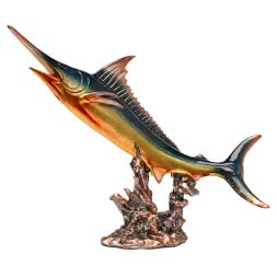 Sculpture swordfish
