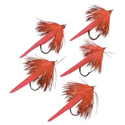 Seapoint Standard Cod Flies (Japanese Red)