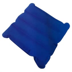 Seat cushion inflatable