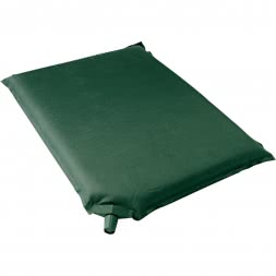 Self-inflating seat cushion
