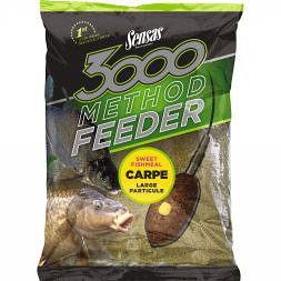 Sensas Coarse Fish Feed 3000 Method (carp)