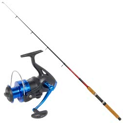 Set: DAM Allround Tele Rod & Quantum Torrent Fishing Reel