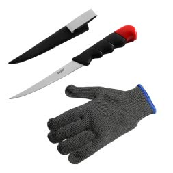 Set: Kogha Floating Fileting Knive + Fileting Glove