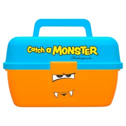 Shakespeare Multipurpose Catch a Monster Play Box (Orange)