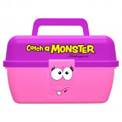 Shakespeare Multipurpose Catch a Monster Play Box (Pink)