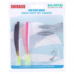Shirasu Soft Bait Set Drop Shot (Zander Set)
