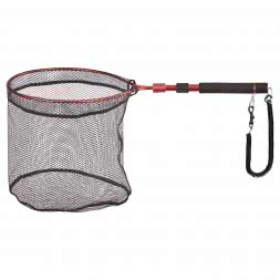 Shirasu Wading net with magnetic clip (extendable)