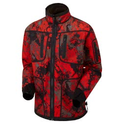 Shooterking Men's Softshell Jacket Forest Mist (reversible)